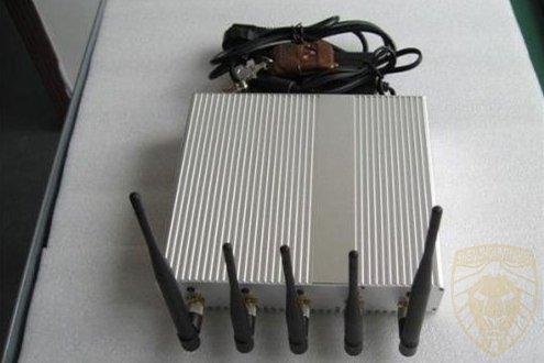 用于安全的高功率4G GPS信号屏蔽器