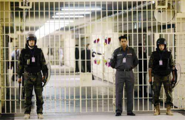 监狱防御系统解放管理压力