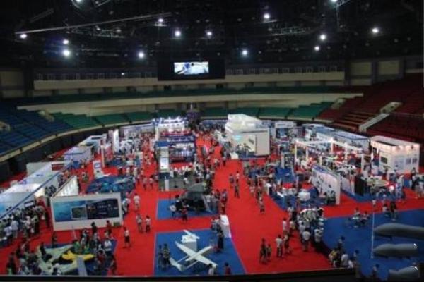 国际会展使用反无人机维护秩序